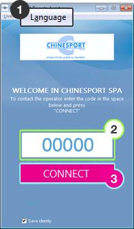 Chinesport Remote Customer Service
