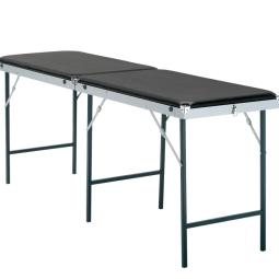 Lettino Massaggio Portatile In Alluminio.Lettini A Valigia Pieghevoli